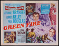 "Movie Posters:Adventure, Green Fire (MGM, 1954). Half Sheet (22"" X 28""). Style A.Adventure.. ..."