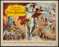 "Movie Posters:Adventure, Omar Khayyam & Other Lot (Paramount, 1957). Half Sheets (2)(22"" X 28""). Style B & Regular. Adventure.. ... (Total: 2Items)"