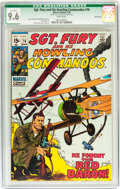 Bronze Age (1970-1979):War, Sgt. Fury and His Howling Commandos #76 Twin Cities pedigree (Marvel, ) CGC Qualified NM+ 9.6 White pages....