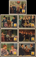 """Movie Posters:Comedy, The Big Noise (20th Century Fox, 1944). Lobby Cards (7) (11"""" X14""""). Comedy.. ... (Total: 7 Items)"""