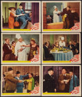 "Movie Posters:Comedy, Nothing but Trouble (MGM, 1944). Lobby Cards (6) (11"" X 14"").Comedy.. ... (Total: 6 Items)"