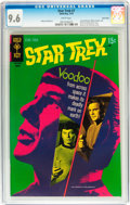Bronze Age (1970-1979):Science Fiction, Star Trek #7 Twin Cities pedigree (Gold Key, 1970) CGC NM+ 9.6 White pages....