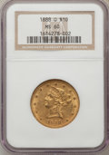 Liberty Eagles: , 1888-O $10 MS60 NGC. NGC Census: (77/386). PCGS Population(52/256). Mintage: 21,335. Numismedia Wsl. Price for problem fre...