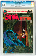 Bronze Age (1970-1979):Superhero, The Brave and the Bold #93 Batman and House of Mystery (DC, 1970) CGC NM+ 9.6 Off-white to white pages....