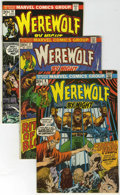 Bronze Age (1970-1979):Horror, Werewolf by Night Group (Marvel, 1973-76) Condition: AverageVG/FN.... (Total: 24 Comic Books)