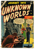 Golden Age (1938-1955):Horror, Journey Into Unknown Worlds #31 (Atlas, 1954) Condition: GD-....