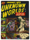 Golden Age (1938-1955):Horror, Journey Into Unknown Worlds #9 (Atlas, 1952) Condition: VG+....
