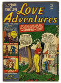 Golden Age (1938-1955):Romance, Love Adventures #5 (Marvel/Atlas, 1951) Condition: VG....