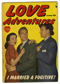Golden Age (1938-1955):Romance, Love Adventures #1 (Marvel/Atlas, 1949) Condition: VG....