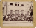 Photography:Cabinet Photos, TEXAS SHERIFFS' CONVENTION IN SAN ANTONIO 1894 - SIGNED - FROM THECOLLECTION OF TEXAS RANGER AND SAN ANTONIO POLICEMAN WALTER...(Total: 1 Item)