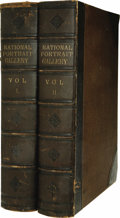 Books:Non-fiction, Two Volume Quarto Set of National Portrait Gallery of EminentAmericans: Including Orators, Statesmen, Naval and Milit...(Total: 2 Item)