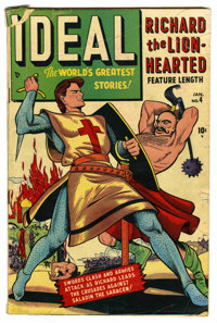 Ideal #4 Richard the Lion-Hearted (Timely, 1949) Condition: GD