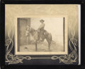 Photography:Cabinet Photos, Armed Mexican Revolutionary Solider on Horse Imperial size Cabinetcard ca 1915 -...