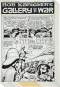 """Original Comic Art:Complete Story, Ric Estrada Unknown Soldier #220 Complete 7-Page BobKanigher's Gallery of War Story """"Of Blood and Ros..."""