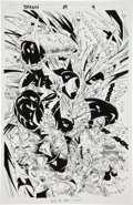Original Comic Art:Panel Pages, Greg Capullo and Todd McFarlane Spawn #39 Splash Page 9Original Art (Image, 1995)....