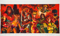 Original Comic Art:Covers, Dan Brereton Ultra X-Men Card Set Painting Original Art(Fleer, 1994)....