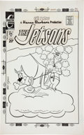 Original Comic Art:Covers, Ray Dirgo The Jetsons #16 Cover Original Art (Charlton, 1972)....