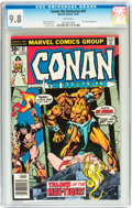 Bronze Age (1970-1979):Miscellaneous, Conan the Barbarian #67 (Marvel, 1976) CGC NM/MT 9.8 White pages....