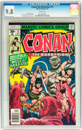 Bronze Age (1970-1979):Superhero, Conan the Barbarian #73 (Marvel, 1977) CGC NM/MT 9.8 White pages....