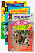 Bronze Age (1970-1979):Cartoon Character, Walt Disney Showcase File Copy Group (Gold Key, 1972-79) Condition:Average VF+.... (Total: 17 Comic Books)