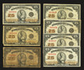 Canadian Currency: , DC-24d 25¢ 1923 Seven Examples. ... (Total: 7 notes)