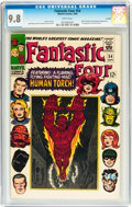Silver Age (1956-1969):Superhero, Fantastic Four #54 Curator pedigree (Marvel, 1966) CGC NM/MT 9.8 White pages....