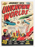 Golden Age (1938-1955):Science Fiction, Journey Into Unknown Worlds #36 (#1) (Atlas, 1950) Condition:VG....