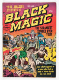 Golden Age (1938-1955):Horror, Black Magic #2 (Prize, 1950) Condition: VG-....