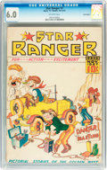 Platinum Age (1897-1937):Miscellaneous, Star Ranger #7 Billy Wright pedigree (Centaur, 1937) CGC FN 6.0Off-white pages....