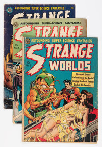 Comic Books - Assorted Golden and Silver Age Science Fiction Comics Group (Various, 1950s-'60s).... (Total: 15 Comic Boo...