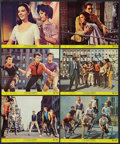 "Movie Posters:Academy Award Winners, West Side Story (United Artists, R-1968). Mini Lobby Cards (6) (8""X 10"") & Half Sheet (22"" X 28""). Academy Award Winners.. ...(Total: 7 Items)"