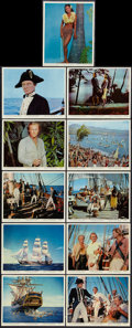 "Movie Posters:Adventure, Mutiny on the Bounty (MGM, 1962). Color Photos (11) (8"" X 10"").Adventure.. ... (Total: 11 Items)"