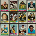 Football Cards:Sets, 1974 and 1975 Topps Football Complete or Near Set Pair (2). ...
