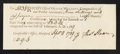 Colonial Notes:Connecticut, Connecticut Receipt for Interest Paid 9s6d September 4, 1789 GemNew.. ...