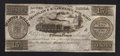 Canadian Currency: , Montreal, LC- Champlain & St. Lawrence Railroad 15 Pence/30 Sous/Quarter Dollar August 1, 1857. ...