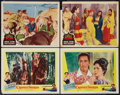 "Movie Posters:Adventure, Crossed Swords and Other Lot (United Artists, 1954). Lobby Cards(4) & Lobby Card Set of 8 (11"" X 14""). Adventure.. ... (Total:12 Items)"