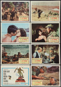 """Movie Posters:War, Lost Command & Others Lot (Columbia, 1966). Lobby Card Sets of8 (2) (11"""" X 14""""), Australian One Sheet (27"""" X 40""""), & Three... (Total: 18 Items)"""