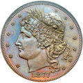 Patterns, 1877 50C Half Dollar, Judd-1525, Pollock-1691, Low R.7, PR67 BrownNGC....