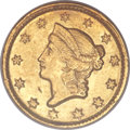 Gold Dollars, 1851-D G$1 MS62 PCGS Secure. Variety 3-D....