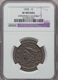 Large Cents: , 1828 1C Large Narrow Date -- Improperly Cleaned -- NGC Details. XF.NGC Census: (7/111). PCGS Population (6/72). Mintage: 2...