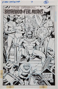 Original Comic Art:Splash Pages, Paul Smith X-Men Unlimited #7 Magneto and the OriginalBrotherhood of Evil Mutants Original Art (Marvel, 1994)....