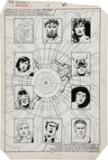 Original Comic Art:Splash Pages, John Byrne and Kyle Baker Avengers Annual #14 Splash Page 35Original Art (Marvel, 1985)....