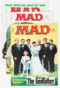 Magazines:Mad, Mad Group -Twin Cities pedigree (EC, 1972-81) Condition: Average VF+.... (Total: 44 Comic Books)