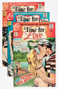 Bronze Age (1970-1979):Romance, Time For Love Group (Charlton, 1968-76) Condition: AverageVF/NM.... (Total: 29 Comic Books)