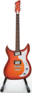 Musical Instruments:Electric Guitars, Richmond Dorchester Fireglo Solid Body Electric Guitar, Serial#09473118....