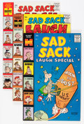 Silver Age (1956-1969):Humor, Sad Sack Laugh Special #1-93 File Copy Long Box Group (Harvey, 1958-77) Condition: Average NM-....