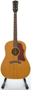 Musical Instruments:Acoustic Guitars, 1965 Gibson J-50 Natural Acoustic Guitar, Serial #118313....