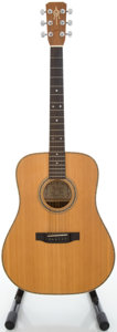 Musical Instruments:Acoustic Guitars, 1981 Alvarez by Yairi DY52 Natural Acoustic Guitar, Serial #37778....