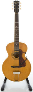 Musical Instruments:Acoustic Guitars, Circa 1915 Gibson L-1 Refinished Archtop Acoustic Guitar, Serial#26283....