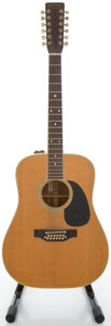 Musical Instruments:Acoustic Guitars, 1980 Takamine F-400S Natural 12 String Acoustic Guitar, Serial#80071977....